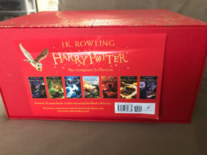 Harry Potter The Complete Collection Hardcover Books for sale