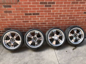 20 inch rims and tires 255 35 20 bolt 5x114