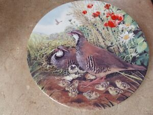 6 plates of wild birds, $20.00 each. 2 plates of different theme