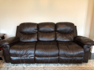 2 reclining couch for sale!