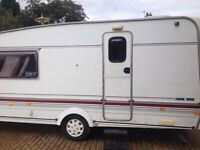 2 berth Swift Challenger 1996 with full awning.