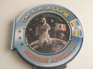 Livre Cap sur la lune astronaute spatial vaisseau enfant