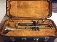 Corton Trumpet with case and Mute