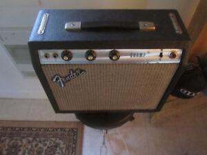 1980 Fender Champ / Silvertone Electric guitar / Various