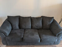 ***MOVING SALE*** Couch, Microwave, Table, Lamps, More >50% OFF