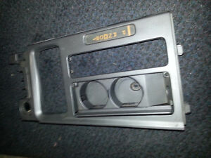 1990 Corvette, shifter / console trim piece