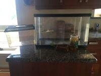 Reptile Tank, Carrier, Water Dish