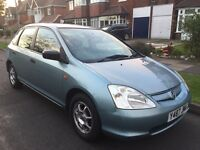 HONDA CIVIC MAX LONG MOT STARTS AND DRIVES PERFECT
