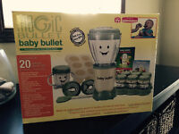 Magic Bullet--Baby Bullet- Used Once