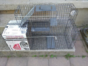 LIVE ANIMAL TRAP- (RENTAL)