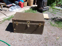 Vintage Trunk - Makes Great Coffee Table