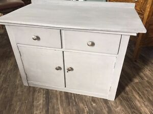 Shabby Chic Antique Cabinet