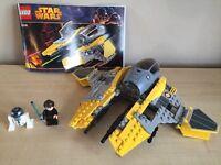 Star Wars Lego Jedi Interceptor 75038