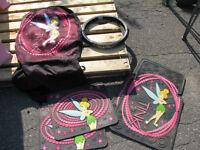 Ensemble tapis, housse et enveloppe volant