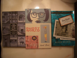 Graphic Novels (It's a Good Life..., Ghost World, Fun Home)