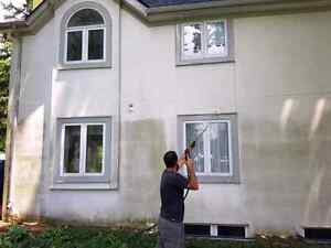 Professional stucco cleaning with Supreme Mobile Wash Cambridge Kitchener Area image 1