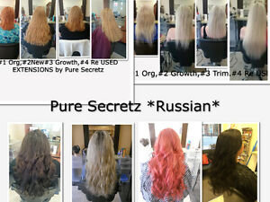 HAIR EXTENSIONS*HALF PRICE OF GL & OURS WILL LAST OVER 1 YEAR London Ontario image 7