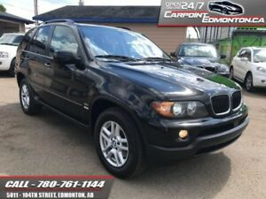 2005 BMW X5 3.0L AWD...GREAT CONDITION...NEW TIRES  RUNS GREAT!!