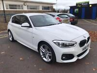 BMW 118 1.5 M SPORT 2016 AUTO 11K FSH ONE OWNER BLACK LEATHER