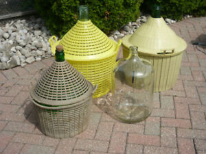 Glass Demijohns