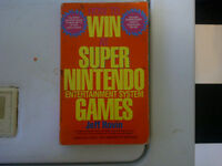 How To Win At Super Nintendo Games by Jeff Rovin SNES Book