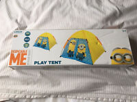 Despicable Me Minions play tent brand new in box RRP £19.99 bargain £10 - folding scooter 2 wheel