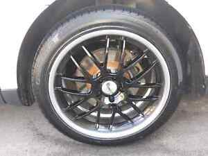 "20"" American Eagle rims and tires"