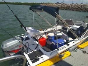 Aluminium boat Stacer 429 Mariner 50 Hp