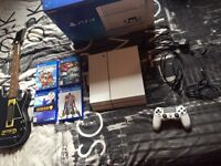 Ps4 Bundle white edition playstation 4 console