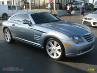 Chrysler Crossfire convertible limited 2008 comme neuf 17200 m