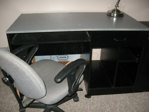 Free student desk, chair and two-drawer filing cabinet
