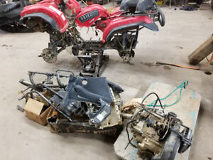 Parting out yamaha 660 grizzly