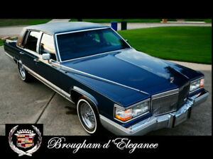 Want to buy: 1990 to 1992 Cadillac Brougham D'Elegance