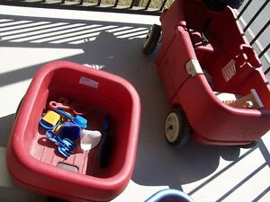wagon and toys for sale