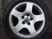 """Audi Alloys With 5 Brand New Wheels - 16"""""""