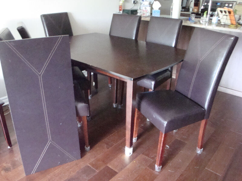 dining table with 8 chairs dining tables and sets  : 20 from www.kijiji.ca size 800 x 600 jpeg 77kB