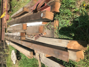 Salvage Wood Timbers
