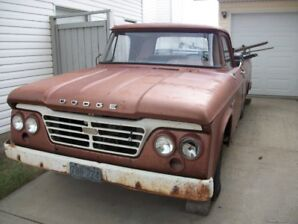 1965 DODGE D100 , needs compete restoration .