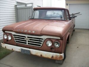 1965 DODGE D100 , needs compete restoration .