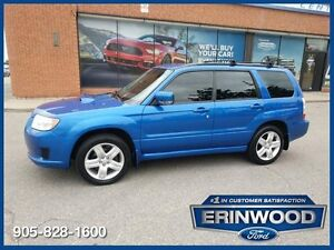 2008 Subaru Forester Anniversary Ed2.5XT AWD / PANO ROOF / LTHR