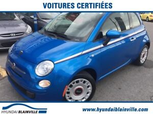 Fiat 500c Convertible Pop DÉMAR DISTANCE,A/C,BLUETOOTH++ 2015