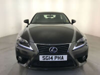 2014 LEXUS IS 300H SE HYBRID AUTOMATIC 1 OWNER LEXUS SERVICE HISTORY FINANCE PX