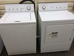 Good used matching pair of Inglis washer and dryer