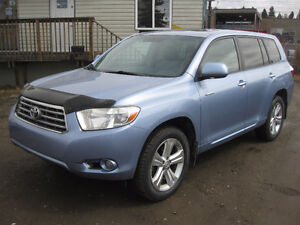 2008 Toyota Highlander Limited SUV, Crossover awd