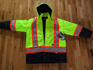 Brand New Work King Safety Parka New with tags size XL 85.00