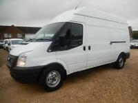 2012 61 FORD TRANSIT T350 LWB HI TOP 2.2 TDCI 125 BHP WILTH LOADING RAMP 57137 M