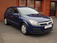 2005 05 VAUXHALL ASTRA 1.6 LIFE 16V TWINPORT 5D 100 BHP