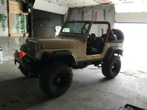 81 Jeep CJ Cummin 4bt