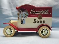 """Campbell's Soup ..1912 model """"t"""" delivery truck"""