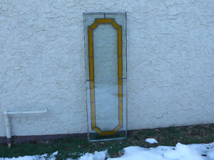 Stained glass window inserts - 2 for $40.00